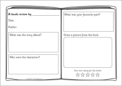 book reviews for students to write