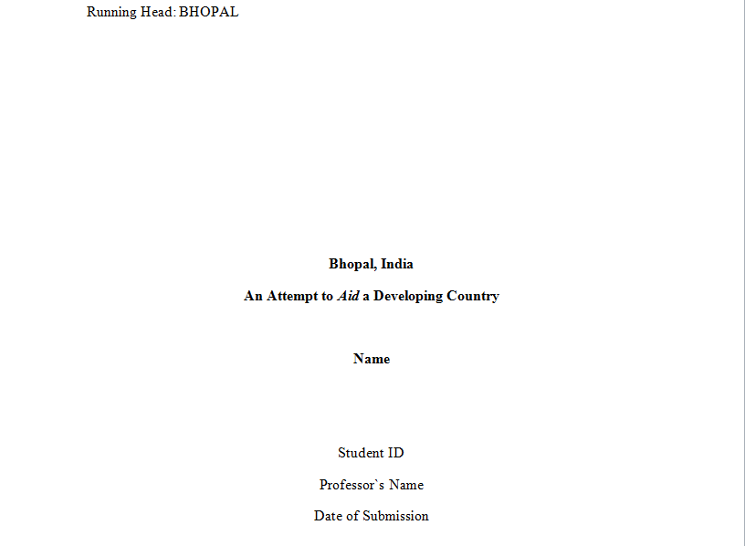 Cover page for essay koshoji