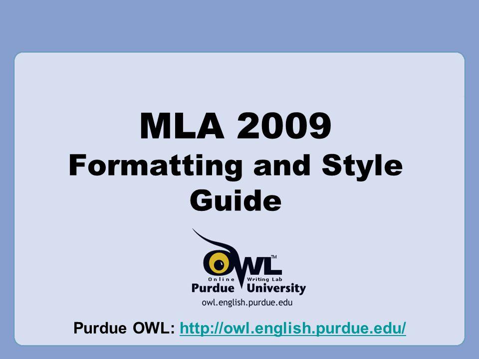 mla bibliography owl koshoji
