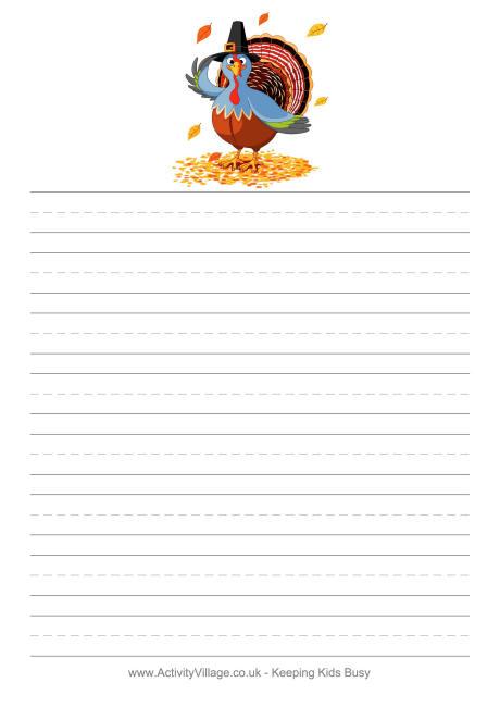 thanksgiving essay paper