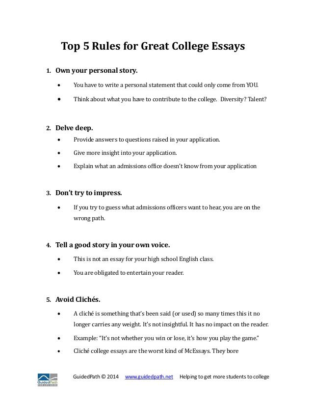 What to write a college essay on – koshoji