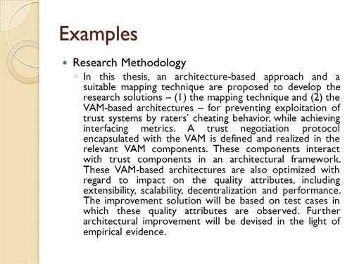 How to write a methodology chapter for a dissertation